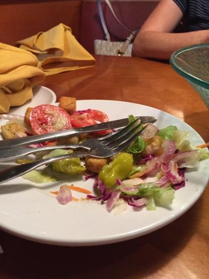 Salad candid. (C) LocalNOMZ, 2017